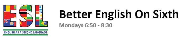Better English On Sixth